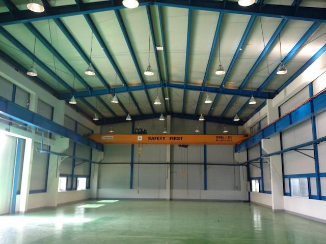 Một nhà xưởng sản xuất thực phẩm cho thuê cần được thiết kế với kiến trúc tối ưu